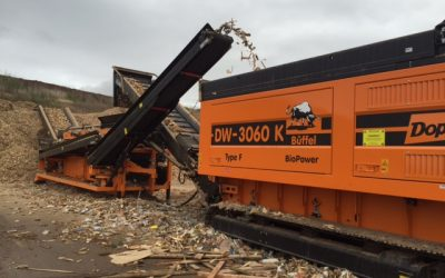 Exciting wood waste recycling news from EMS Waste Services and ASAP Skips
